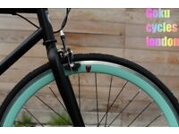 SALE Free to customise single speed road bike track bike fixed gear racing fixie bicycle a