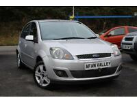 FORD FIESTA 1.4 TDCi Zetec 5dr [Climate] **FULL S/HISTORY+2 OWNERS** (silver) 2007