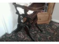 Victorian metamorphic highchair
