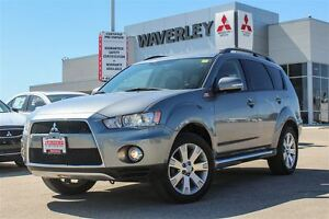 2013 Mitsubishi Outlander XLS/Navigation/Leather/Sunroof/PremSou