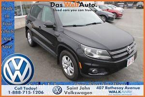 2014 Volkswagen Tiguan Trendline $176.13 bi weekly