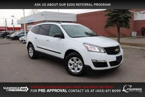 2017 Chevrolet Traverse LS, AWD, BLUETOOTH, CRUSIE CONTROL