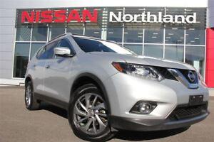 2015 Nissan Rogue SL/Leather/Navigation/Moonroof/AWD