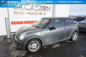 2010 MINI COOPER S CUIR+TOIT+BLUETOOTH