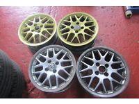 "Genuine Volkswagen BBS 16"" Split Rim 2 piece Alloy Wheels (price per wheel)"