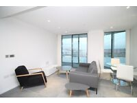 # Stunning brand new 1 bed available now in Dollar Bay - 18th floor - concierge and a gym included!