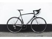 Road bicycle specialized allez Black 58 cm like new