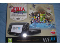 Nintendo Wii U Limited edition zelda console with 22 games