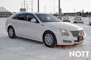 2010 Cadillac CTS CTS4 Wagon AWD V6 Heated Leather, Pano Roof