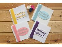 Wedding Invitations and Save the Dates - individually handcrafted and personalised