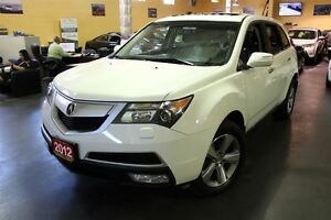 2012 Acura MDX SH-AWD LEATHER SUNROOF 18ALLOYS 7PASSENGER