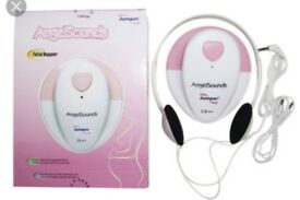 Angelsounds Baby Sound Monitor Fetal Doppler,listen and recording your baby heartbeat
