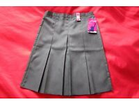 Grey school skirt, brand new with tags