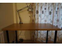 Ikea Aldis/Linnmon desk