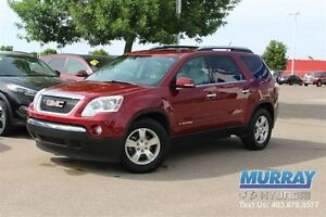 2007 GMC Acadia SLT | AWD | LEATHER | DVD | MOONROOF