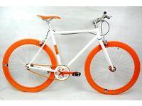 Brand new NOLOGO Aluminium single speed fixed gear fixie bike/ road bike/ bicycles qq2