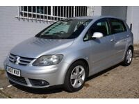 Volkswagen Golf Plus 1.4 TSI Sport petrol 5dr low tax