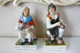 Victorian Pair Staffordshire Figures.