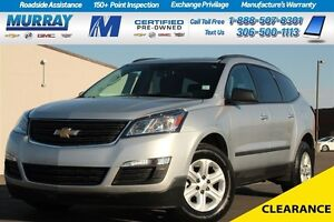 2016 Chevrolet Traverse LS* CLOTH SEATS*ON STAR*