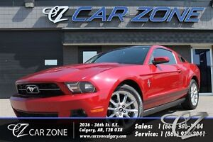 2010 Ford Mustang V6 Premium, Glass roof, Low Payment
