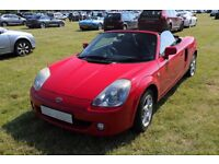 Toyota MR2 Roadster Facelift 2004 Red - 13 Months MOT (March 2018)
