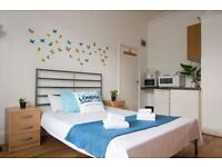 Large spacious studio flat for short term rent in Willesden Green- London (#P1)