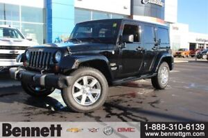 2012 Jeep WRANGLER UNLIMITED Sahara - 4x4, heated seats, hard an