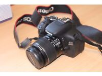 Canon EOS 600D Digital Camera. With 18-55mm Lens