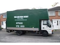Home House Removal Specialists. From single items to full house contents. Van and Man Hire