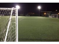 Need a player for 9 aside casual football tonight in Southfields   6:30-8:00