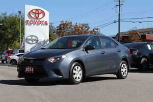 2014 Toyota Corolla CE 1.8L FWD Bluetooth Connectivity/LED Headl