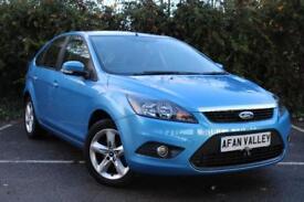 Ford Focus Zetec 5dr **FULL SERVICE HISTORY** (blue) 2010