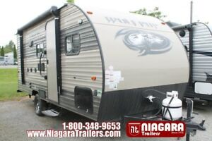 2018 Forest River Wolf Pip 16BHS Travel Trailer
