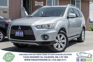 2010 Mitsubishi Outlander XLS | 7 PASS | NO ACCIDENT | AWD
