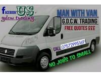 Man&Van:- House Moves /Furniture Collection