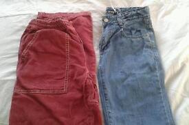 Mini Boden boy's trouser bundle Age 11