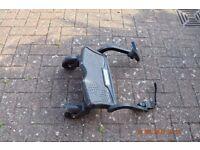 Buggy stroller step platform board