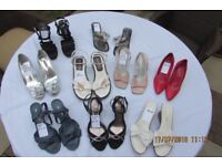 Ladies Shoes. All very good quality, hardly worn