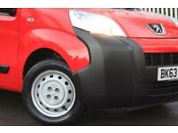 PEUGEOT BIPPER 1.2 HDI S 1d 75 BHP COMPETITIVE FINANCE AVAILABLE (red) 2013