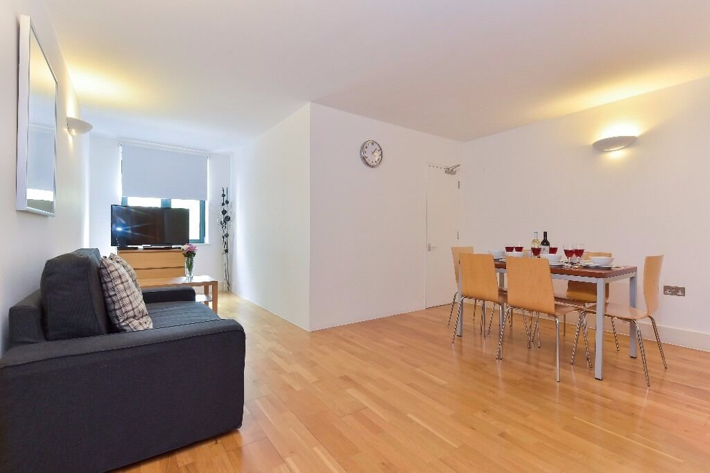 2 bed/ 1 bath apartment in Fitzrovia, fully furnished and WIfI included, 3 months min