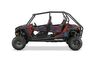 2016 Polaris RZR 4 900 EPS 49$/sem garantie 3 ans