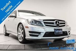2012 Mercedes-Benz C350 COUPE 4MATIC * GPS, TOIT PANO