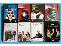Ricky Gervais DVD collection
