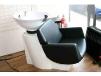 Barbershop sink