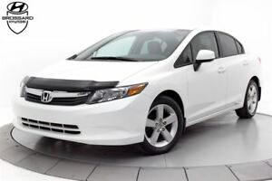 2012 Honda Civic LX AUTOMATIQUE A/C BLUETOOTH CRUISE MAGS