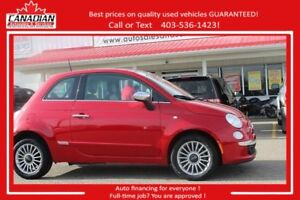 2012 Fiat 500 Lounge loaded leather $$ REDUCED