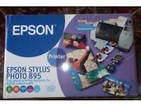 New in box Epson stylus Photo 895 digital photo printer