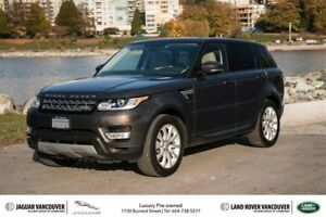 2015 Land Rover Range Rover Sport V6 HSE *Certified Pre-Owned!