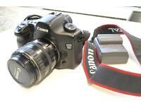 Canon EOS 5D 12.8MP Digital SLR Camera and Lens