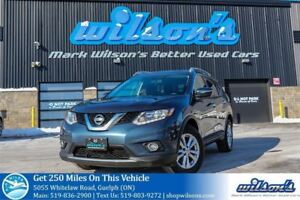 2015 Nissan Rogue SV AWD PANORAMIC SUNROOF! REAR CAMERA! HEATED
